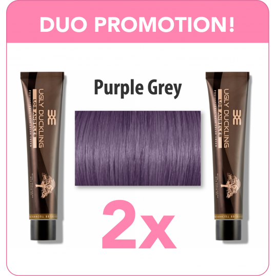 Purple Grey Duo