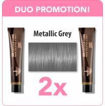 Metallic Grey Duo
