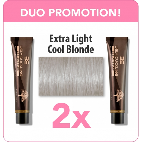 Extra Light Cold Ash Blonde Duo