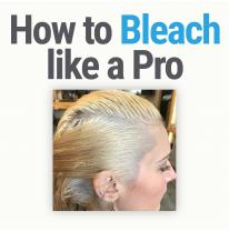 How to Bleach Hair Like a Pro