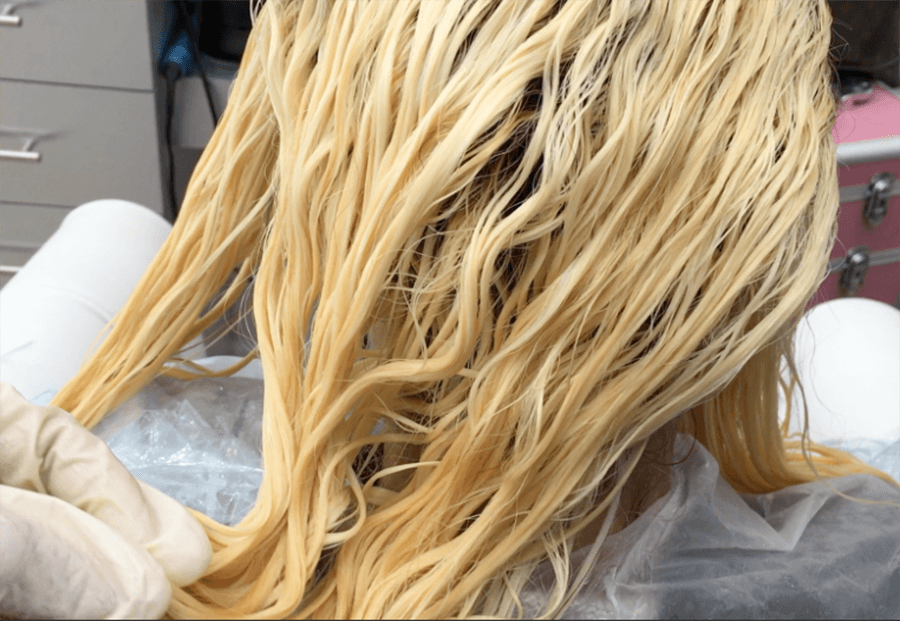 Hair Color After Bleaching
