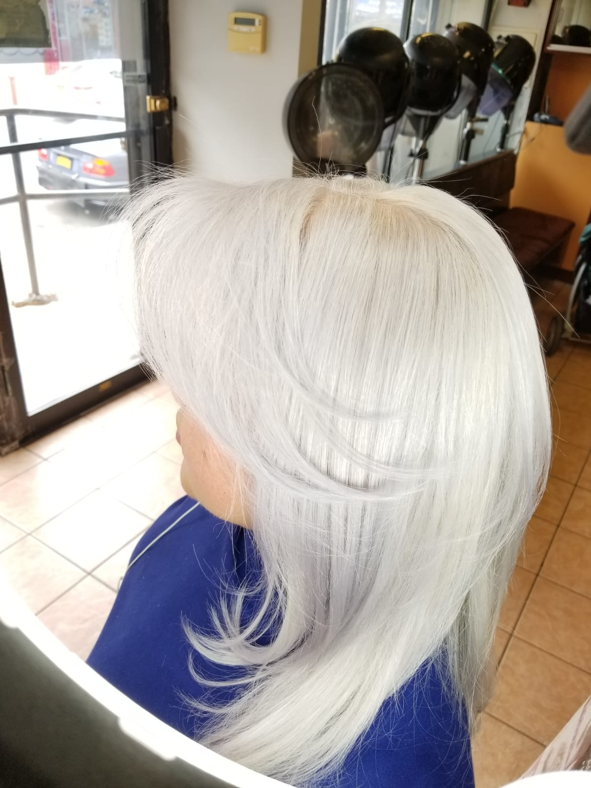 Pearl Blonde Color Result