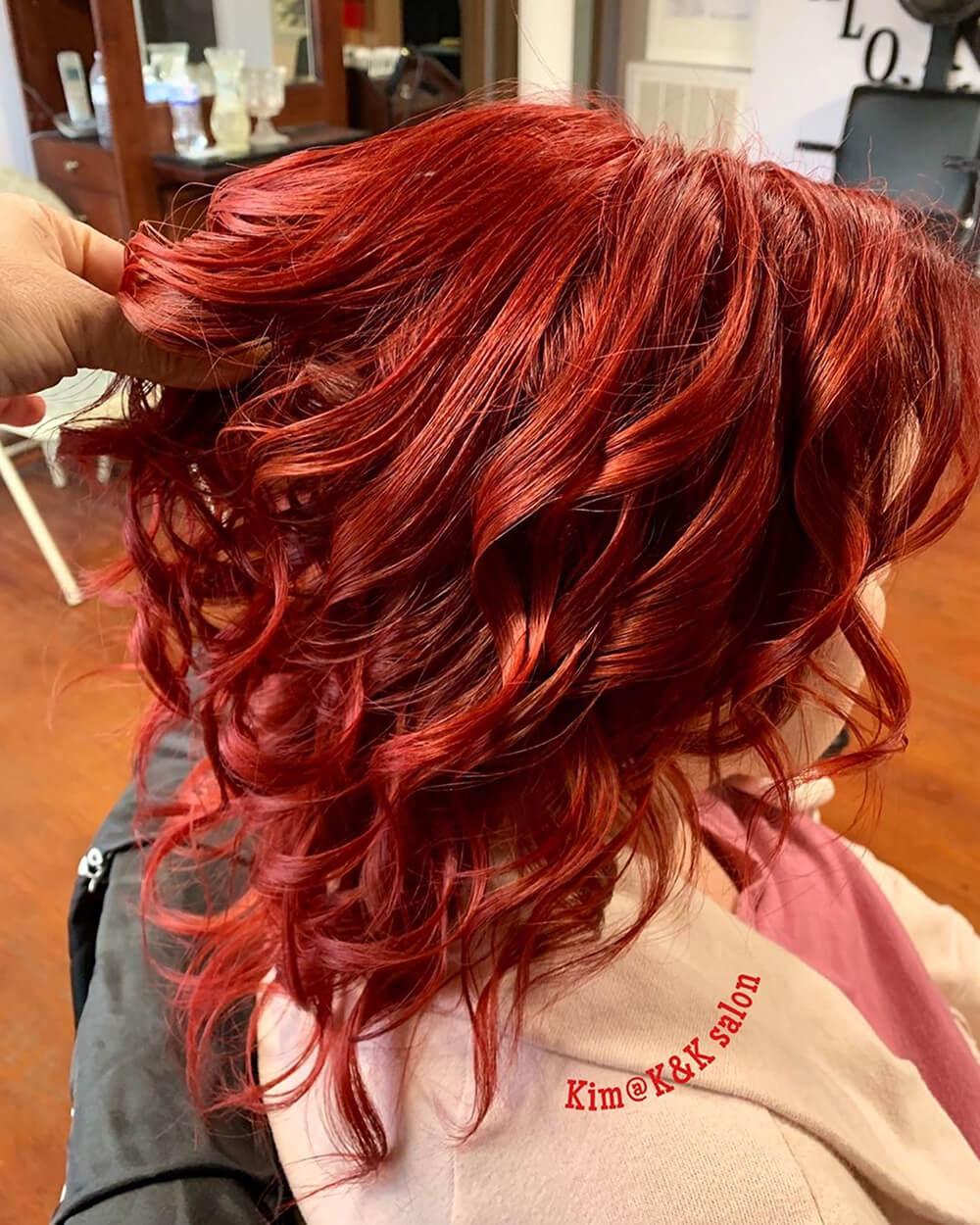 Deep Red Blonde