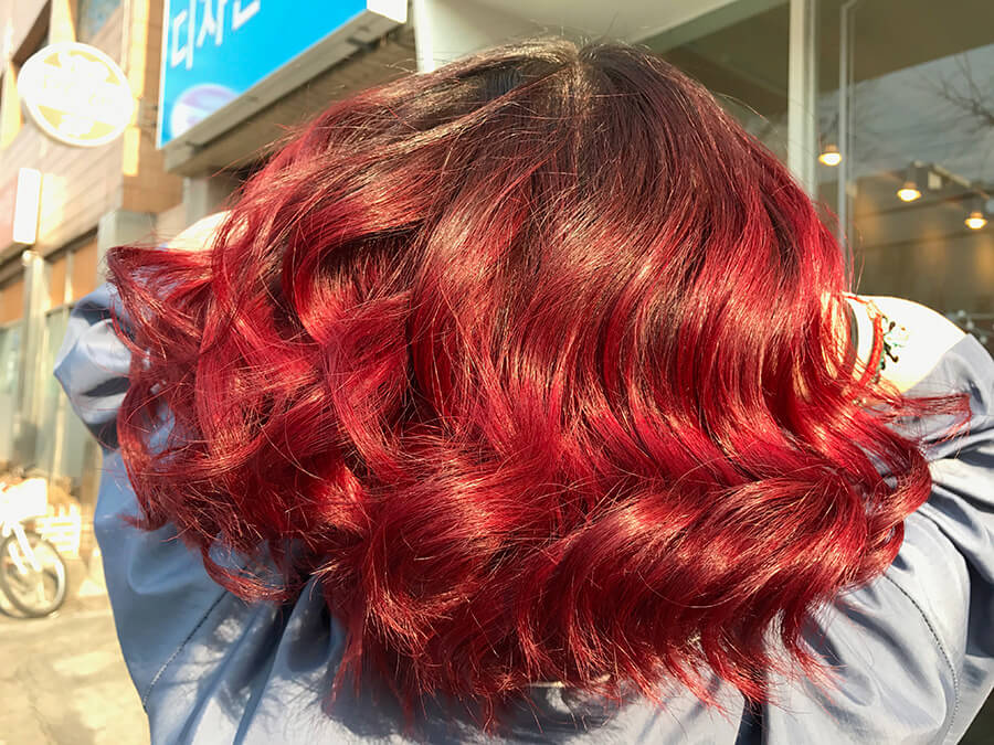 After - Ruby Red