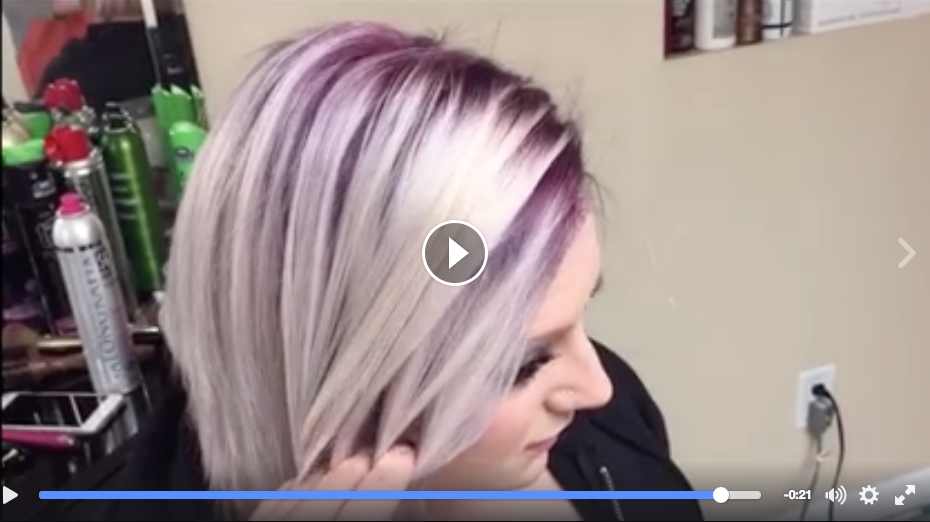 Violet Hair Color