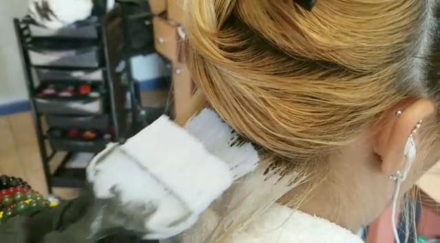 Applying Bleach After Sectioning