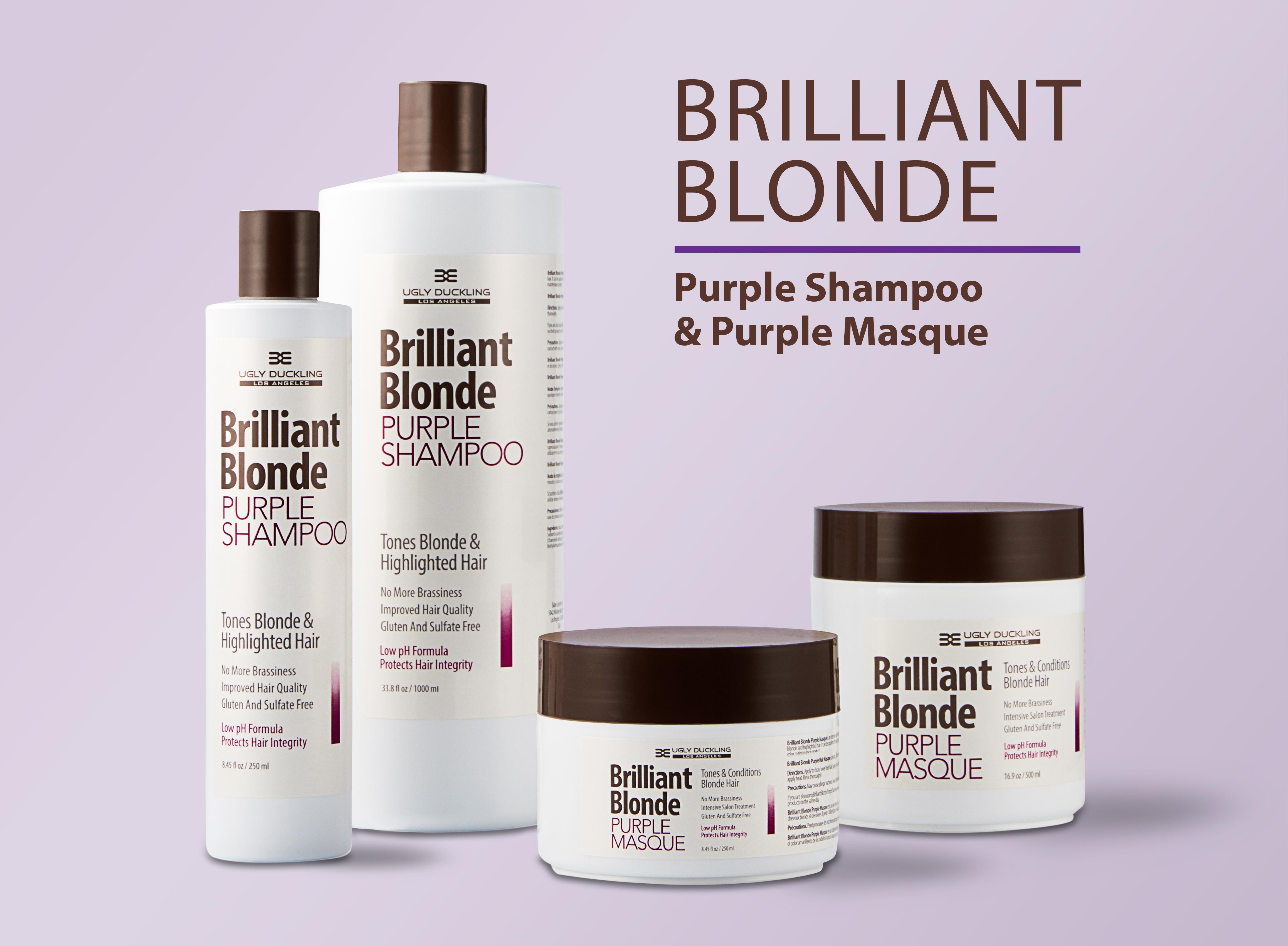 Purple Shampoo and Mask