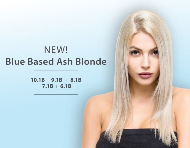 Blue Based Ash Blonde Hair Color