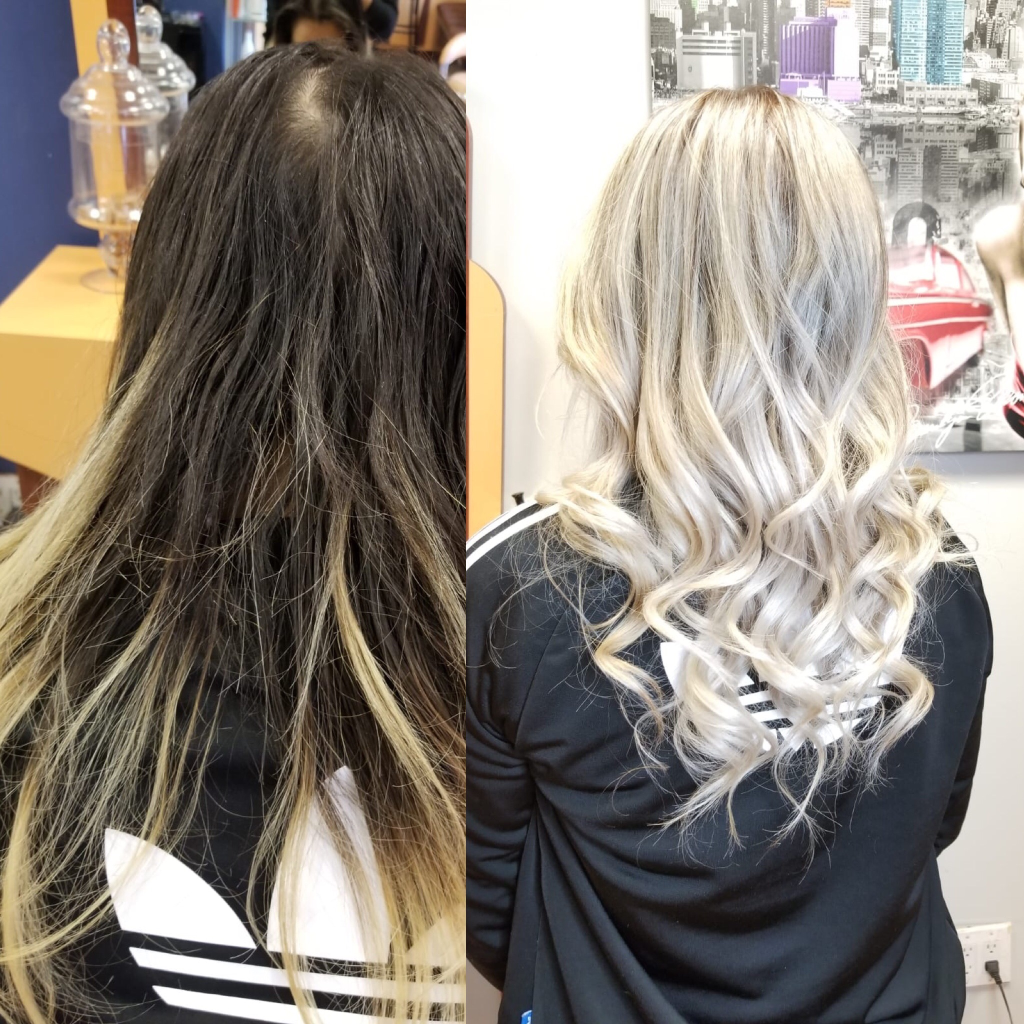 Toner Before and After