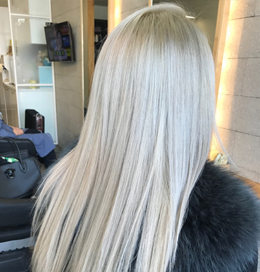 Perfectly Lifted & Toned Hair