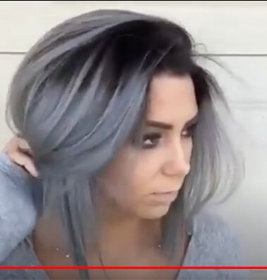 Silver Grey & Metallic Grey