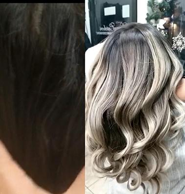 Dark Blonde Shadow Root