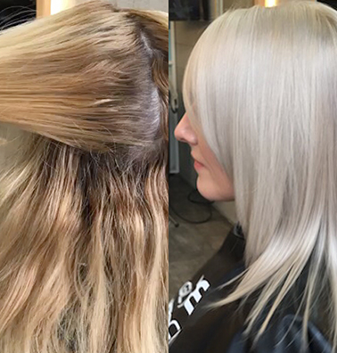 Yellow Hair Before & After